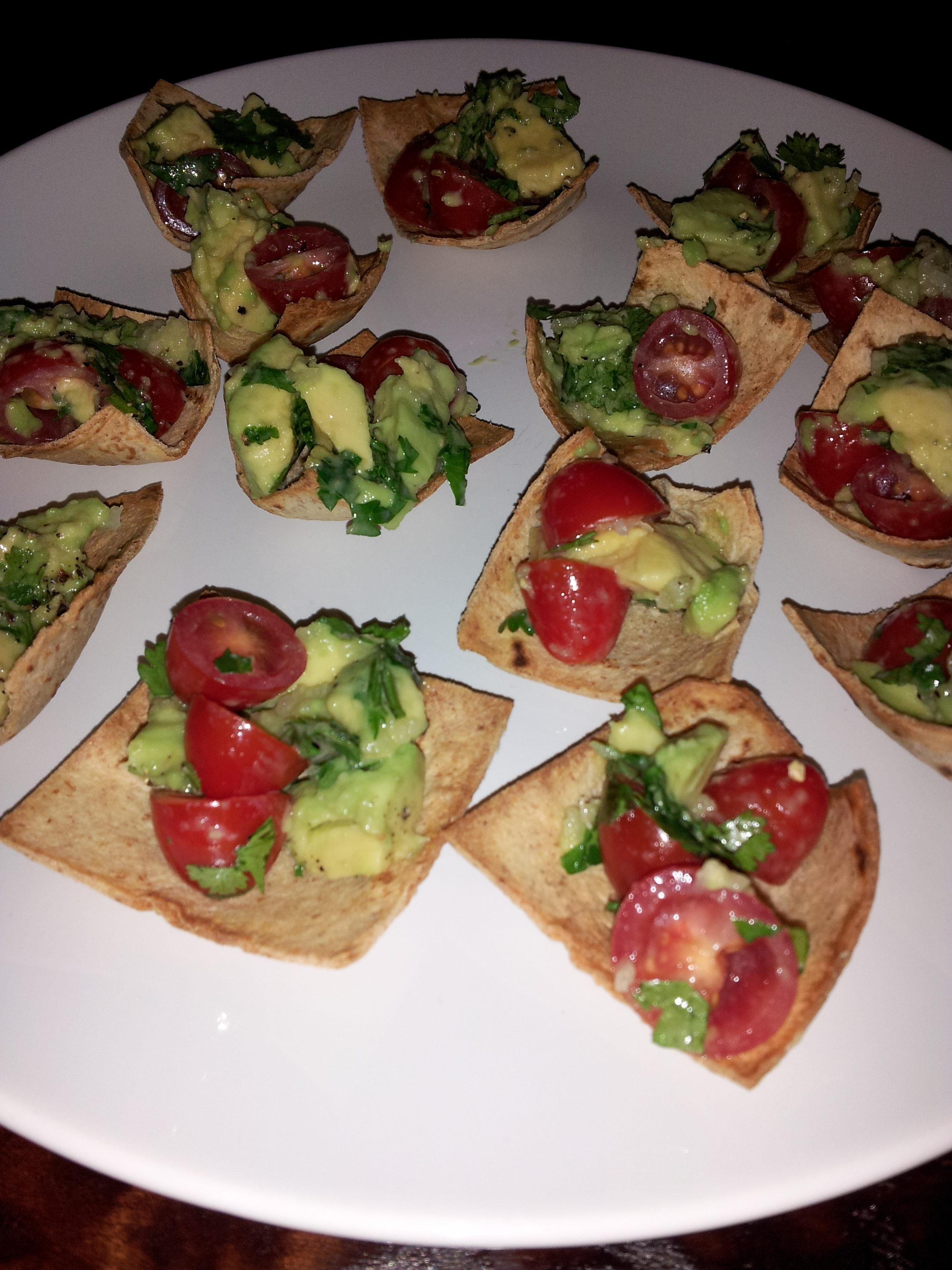 pampered chef avocado tomoato chips