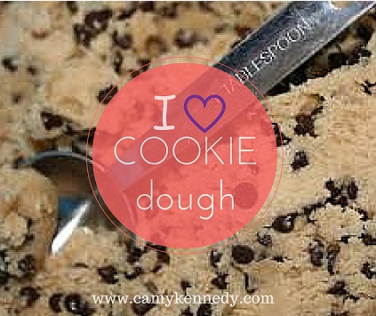 i love cookie dough