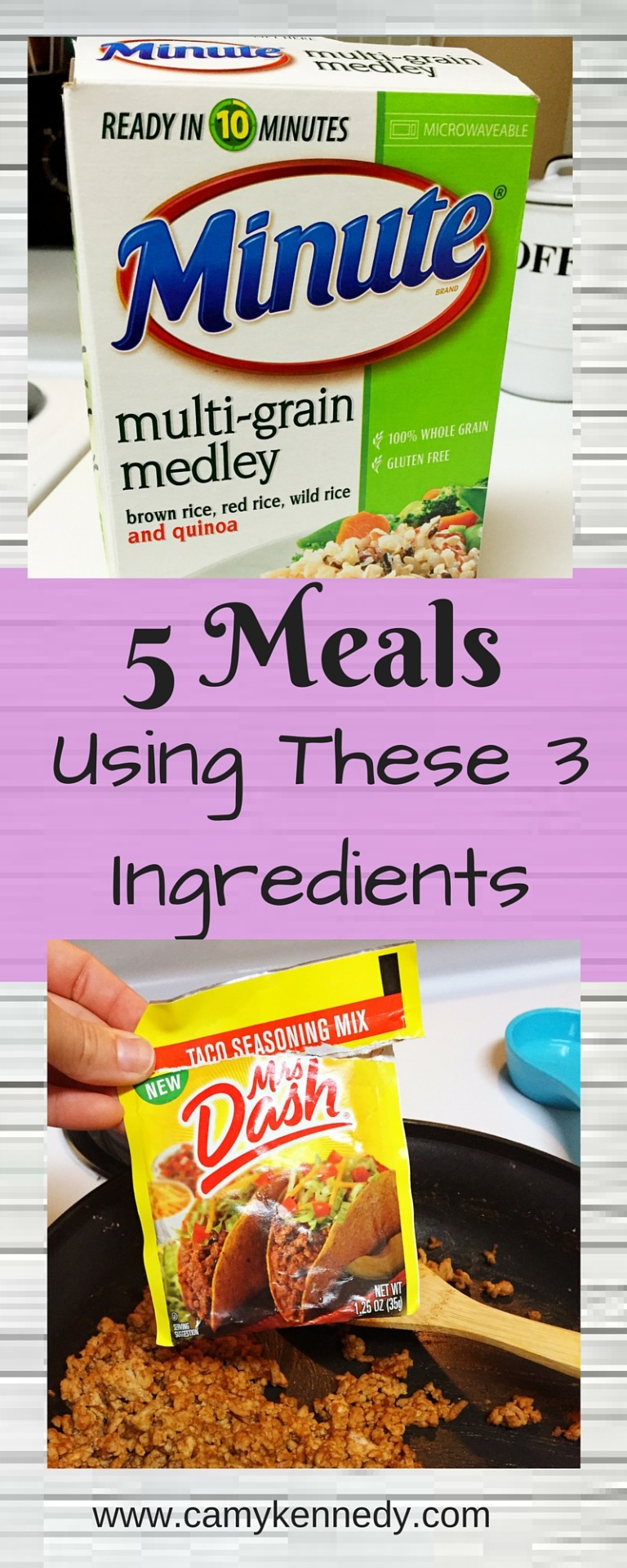 5 Meals Using these 2 ingredients