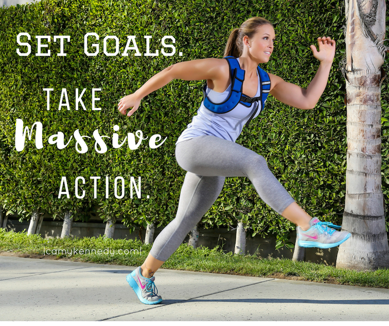Set Goals.Take Massive Action.