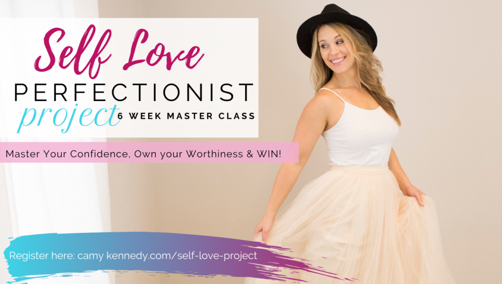 self love perfectionist project