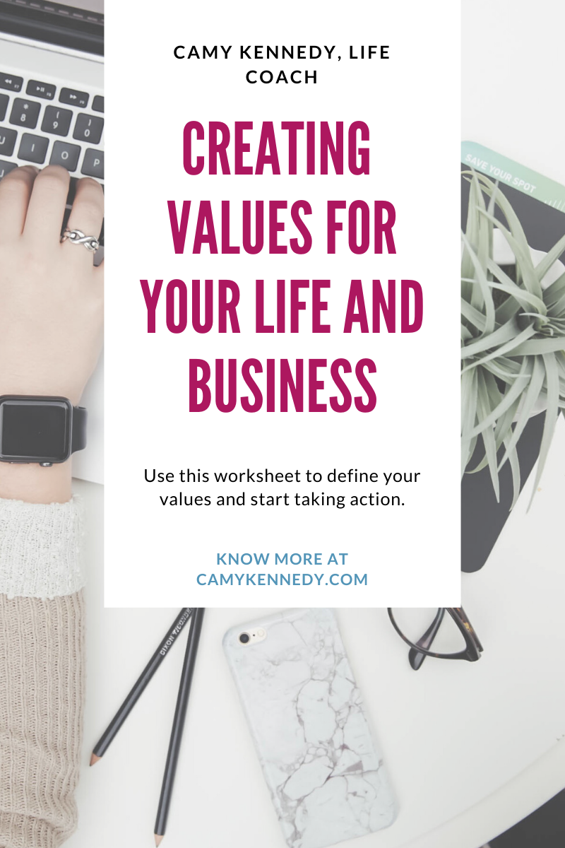 create your values