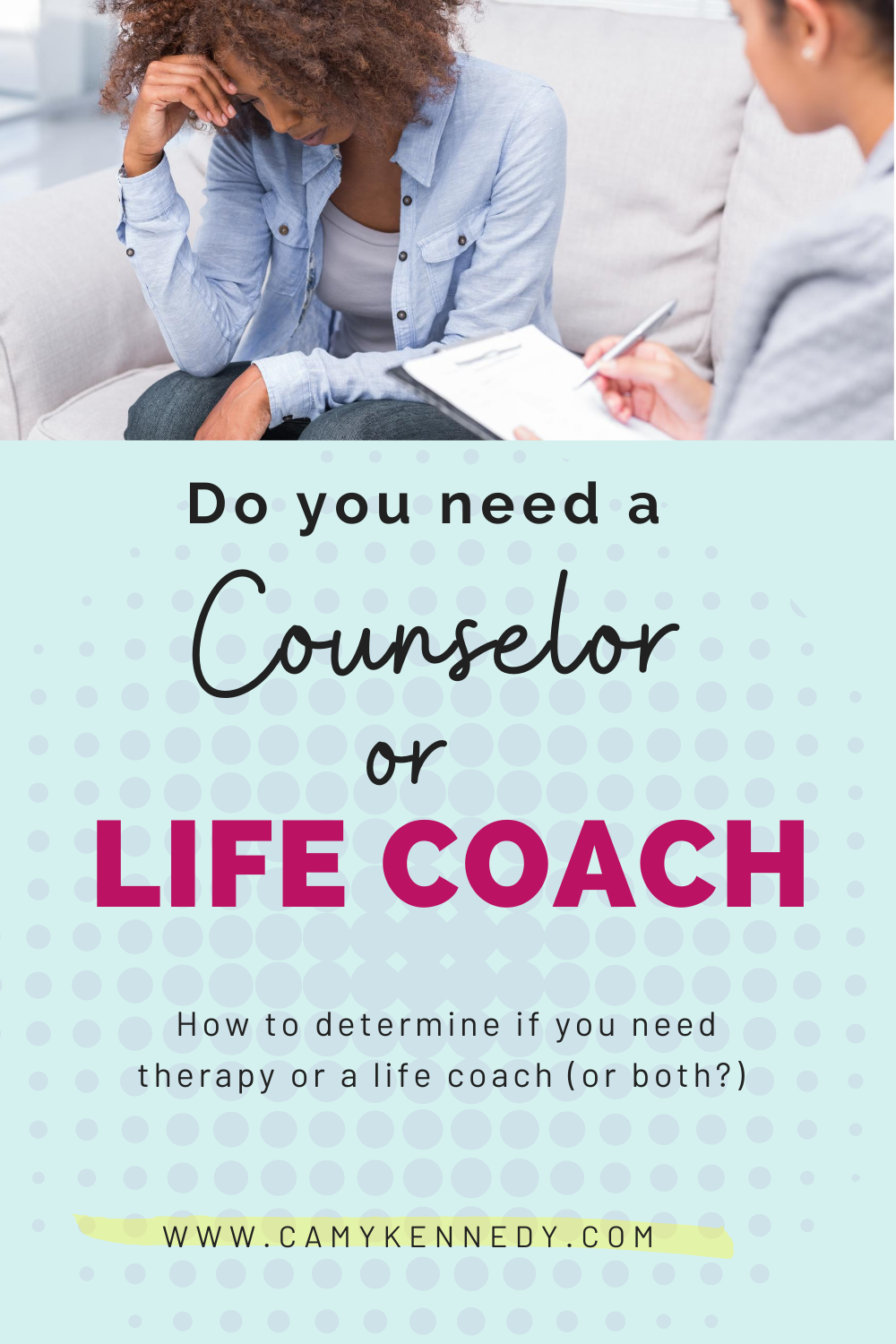 therapy or life coach